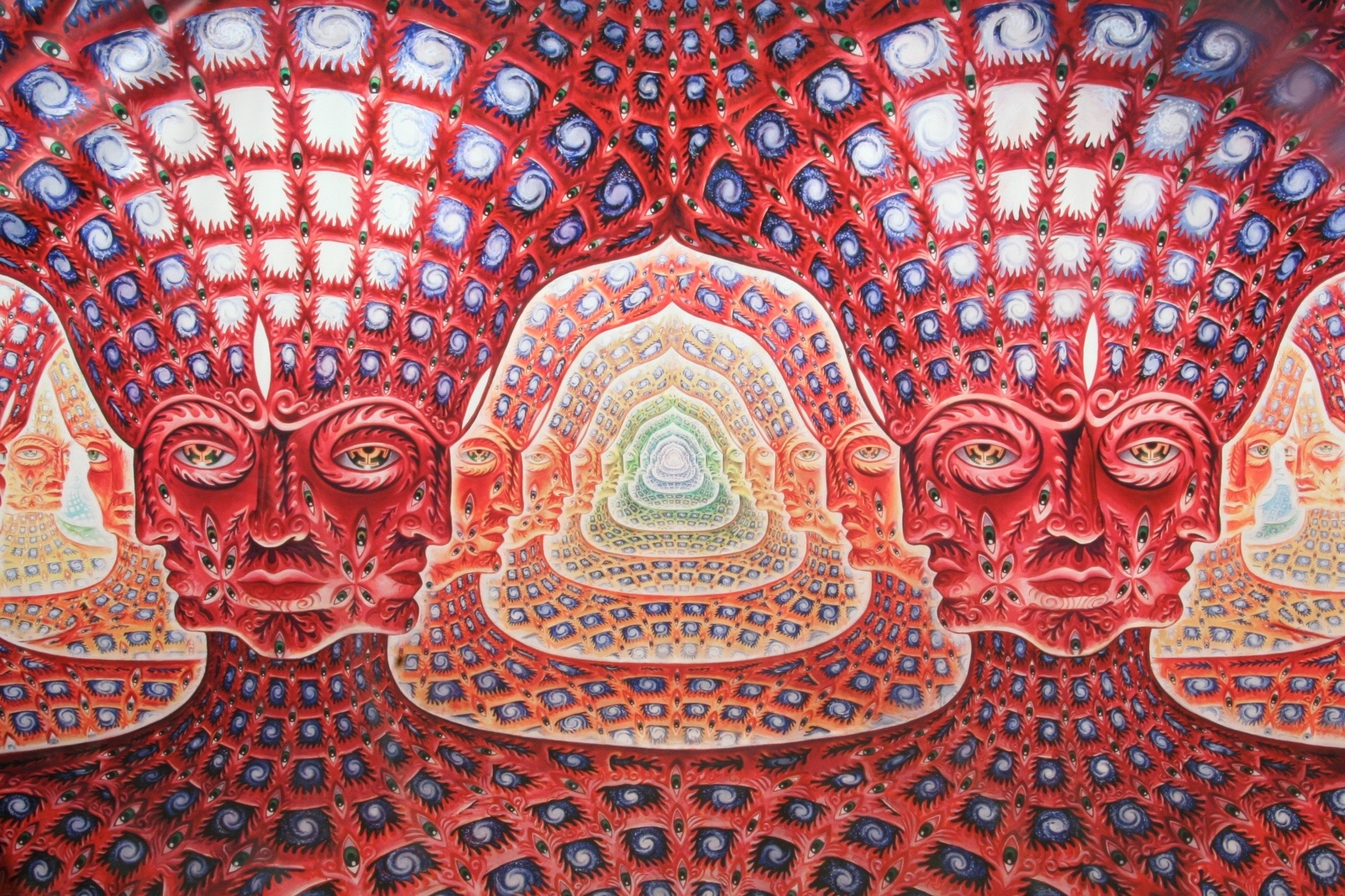 alex grey Alex grey (born november 29, 1953) is an american visionary artist, author, teacher, and vajrayana practitioner his body of work spans a variety of forms including performance art, process art, installation art, sculpture, visionary art, and paintinggrey is a member of the integral institutehe is also on the board of advisors for the center.