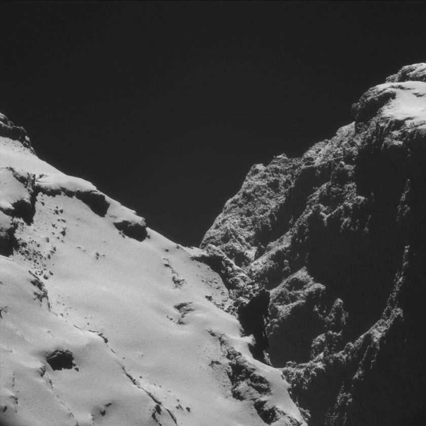 Comet 67P/C-G Interception of a galactic voyager — DOP