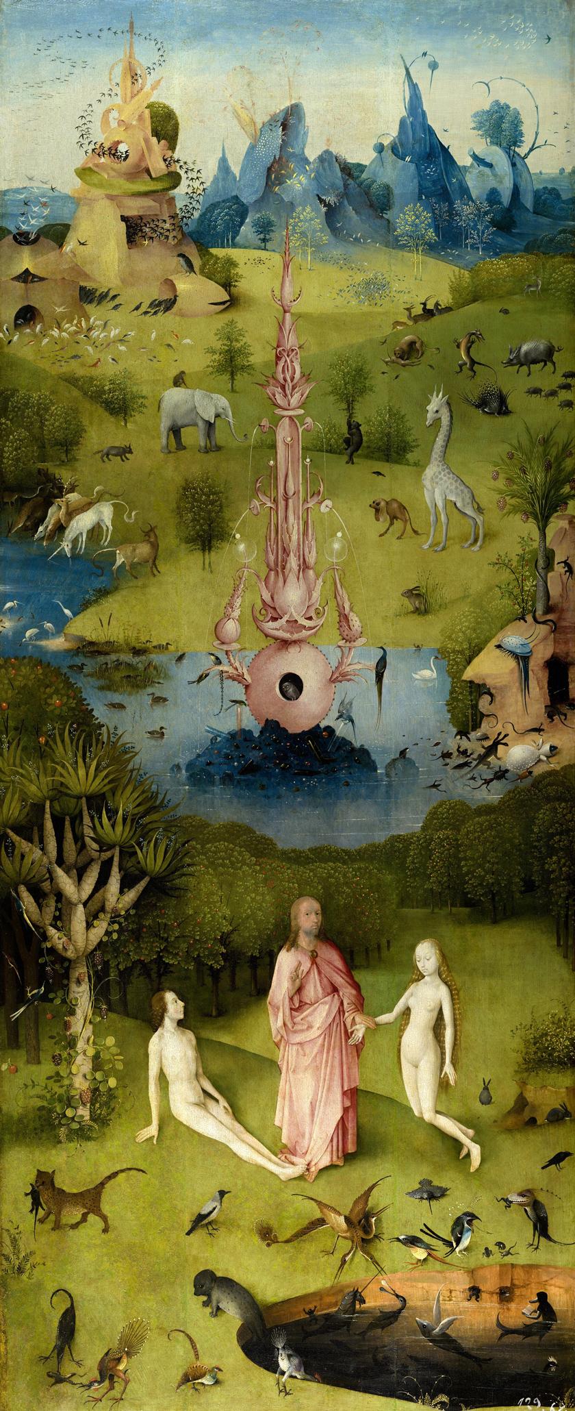 Hieronymus Bosch The Garden of Earthly Delights \u2014 DOP