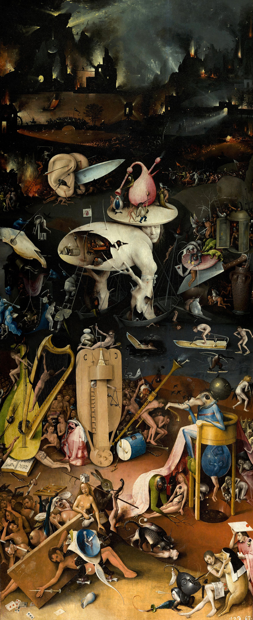 Hieronymus Bosch The Garden Of Earthly Delights Dop