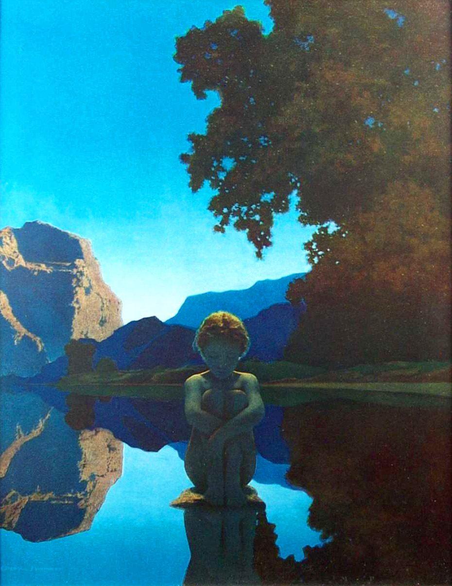 maxfield parrish the doctrine of divine light  u2014 dop
