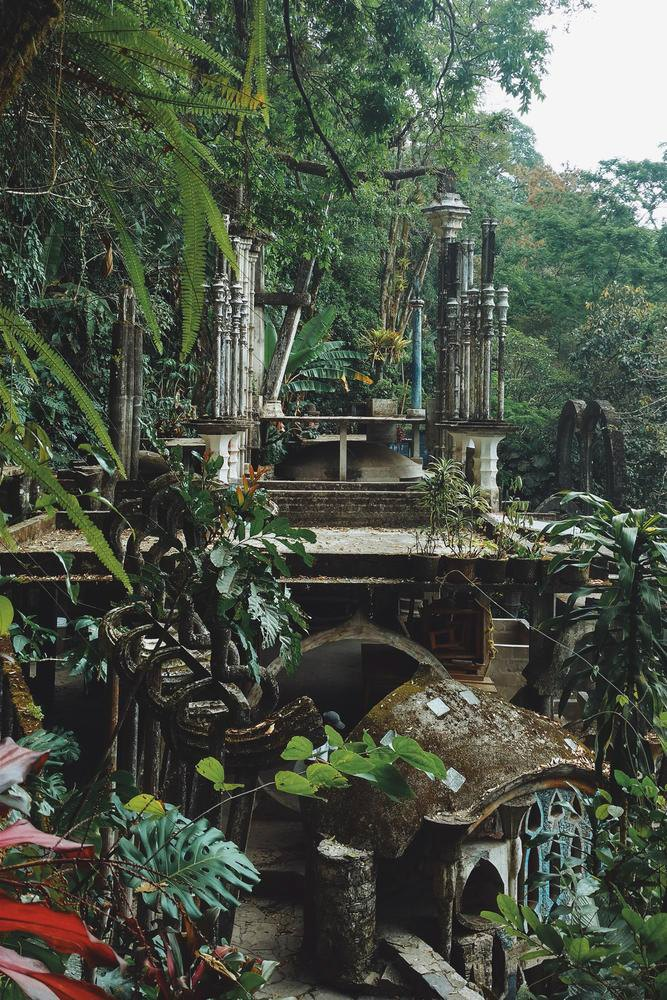 Las pozas de edward james dop for Jardin xilitla