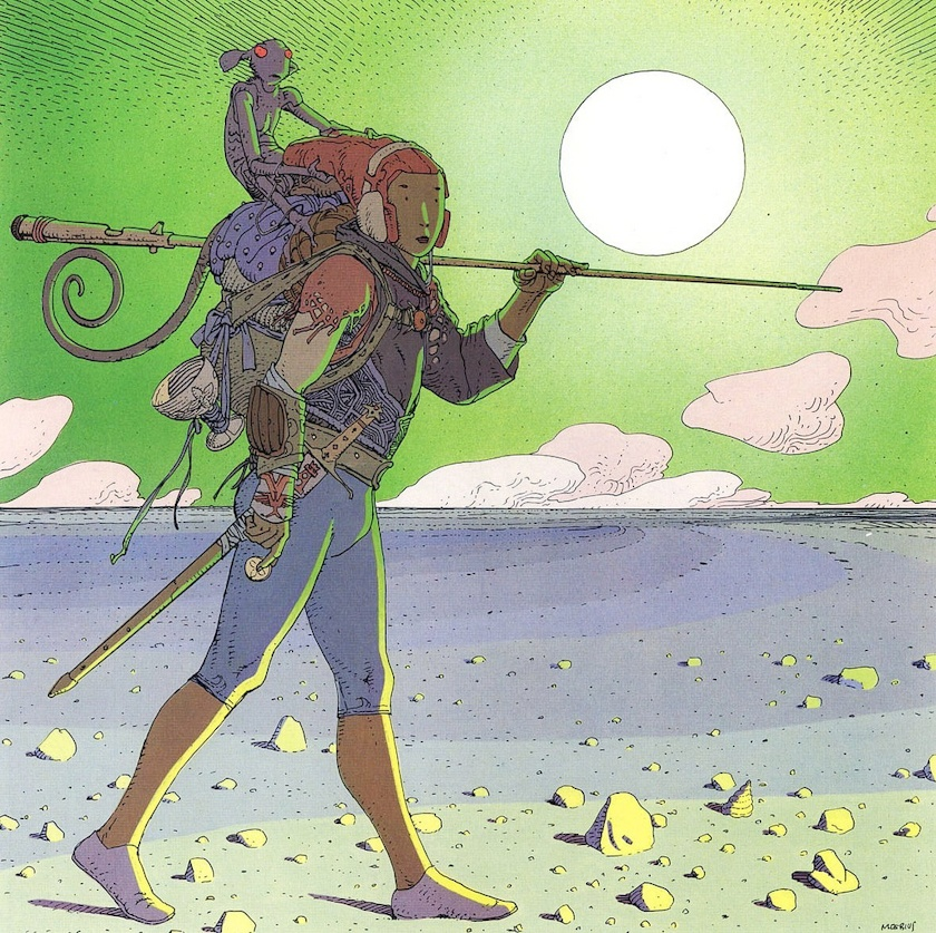 Moebius Color Work Dop