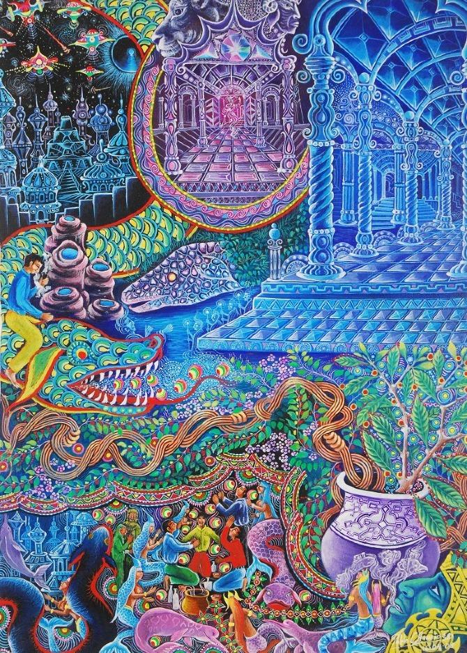 Pablo Amaringo Shaman and painter — DOP